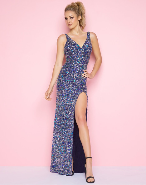 1068L (Navy) Prom                                             dress by Mac Duggal : Flash