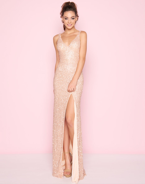 1068L (Rose Gold) Prom dress by Mac Duggal : Flash