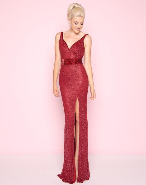 1070L (Garnet) Prom dress by Mac Duggal : Flash