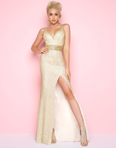 1070L (Gold) Prom                                             dress by Mac Duggal : Flash