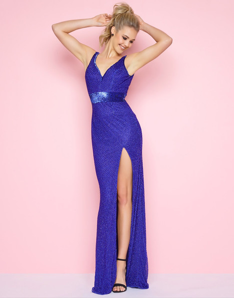 1070L (Royal) Prom                                             dress by Mac Duggal : Flash