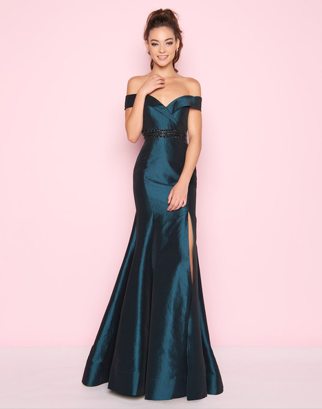 12036L (Bottle Green) Prom dress by Mac Duggal : Flash