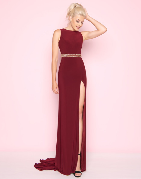 2012L (Burgundy) Prom                                             dress by Mac Duggal : Flash