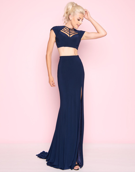 2019L (Navy) Prom                                             dress by Mac Duggal : Flash