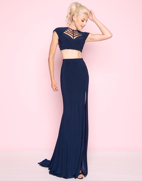 2019L (Navy) Prom                                             dress by Mac Duggal : Flash