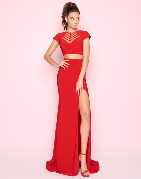 2019L (Red) Prom                                             dress by Mac Duggal : Flash