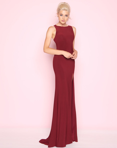 25354L (Burgundy) Prom                                             dress by Mac Duggal : Flash