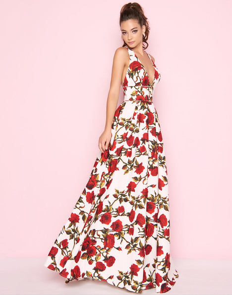 25399L (White) Prom                                             dress by Mac Duggal : Flash