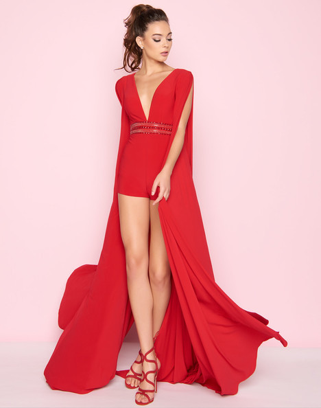 25449L (Red) Prom dress by Mac Duggal : Flash