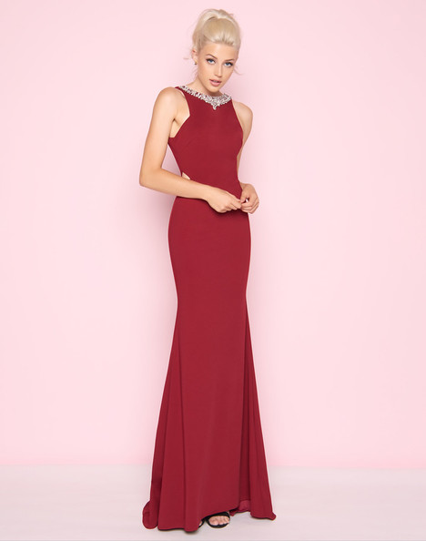 25475L (Burgundy) Prom                                             dress by Mac Duggal : Flash