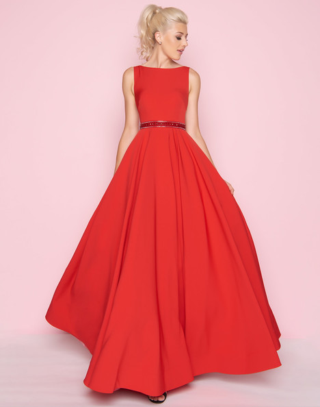 25608L (Red) Prom                                             dress by Mac Duggal : Flash