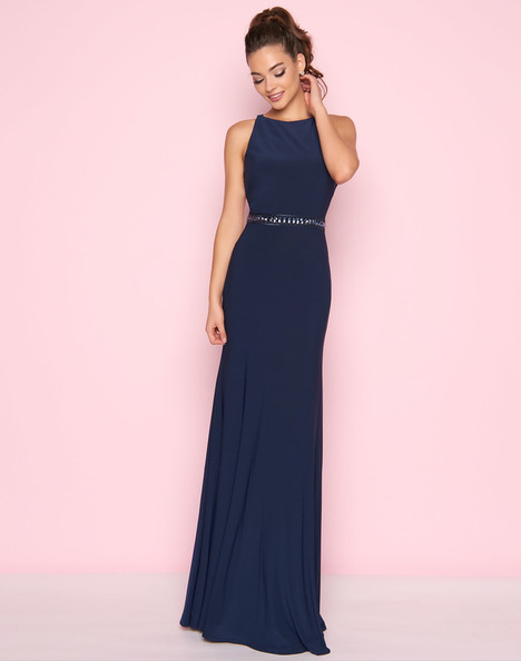 25633L (Navy) Prom                                             dress by Mac Duggal : Flash