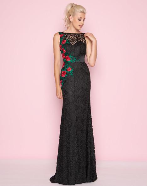 40530L (Black + Red) Prom                                             dress by Mac Duggal : Flash