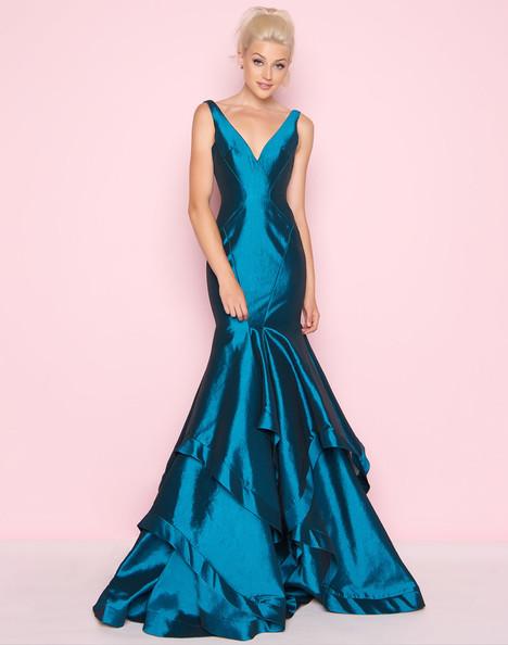 62903L (Peacock) Prom                                             dress by Mac Duggal : Flash