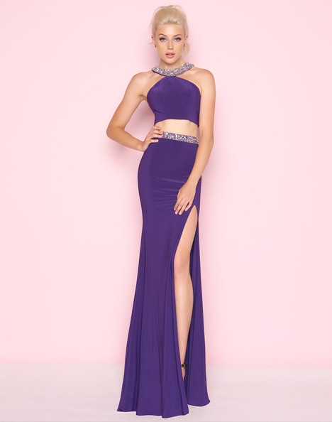 66133L (Purple) gown from the 2018 Mac Duggal : Flash collection, as seen on dressfinder.ca