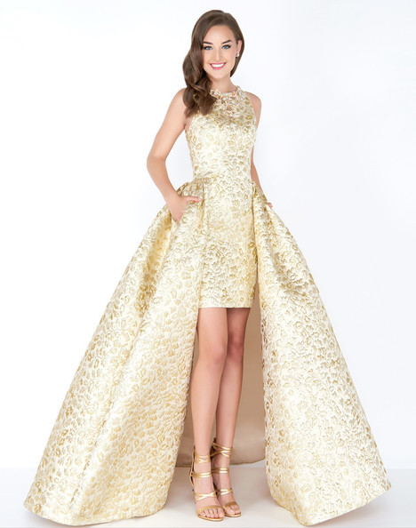 40694M (Gold) Prom                                             dress by Mac Duggal Prom