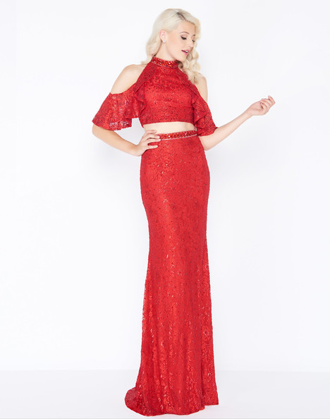 40775M (Red) Prom                                             dress by Mac Duggal Prom