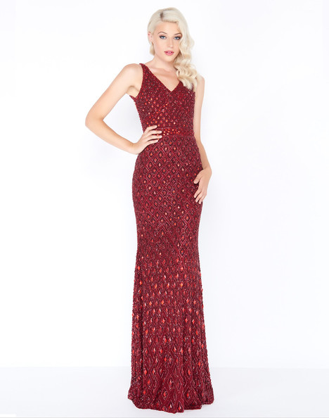 4551M (Burgundy) Prom                                             dress by Mac Duggal Prom