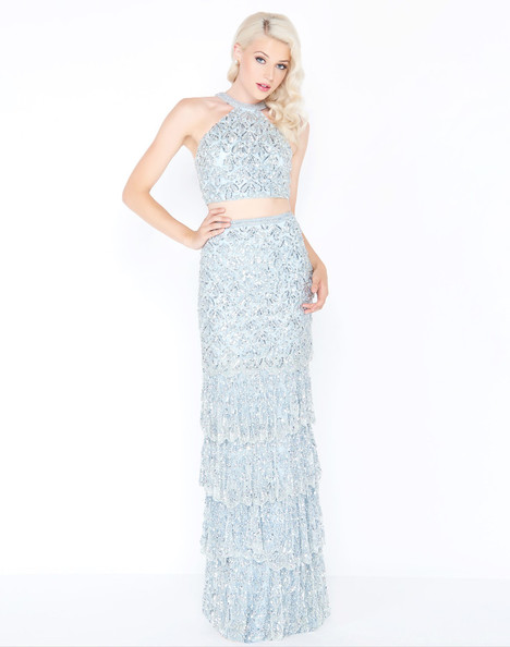 4617M (Ice Blue) Prom                                             dress by Mac Duggal Prom