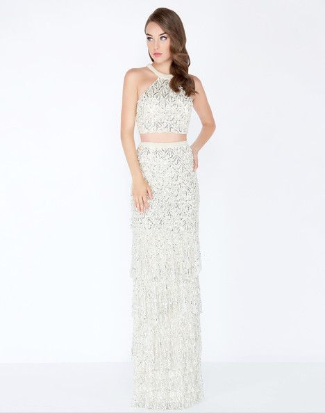 4617M (Ivory) Prom                                             dress by Mac Duggal Prom