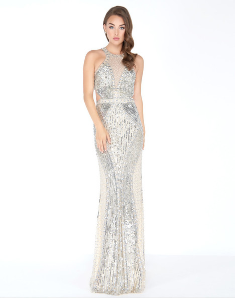 4666M (Silver) Prom                                             dress by Mac Duggal Prom