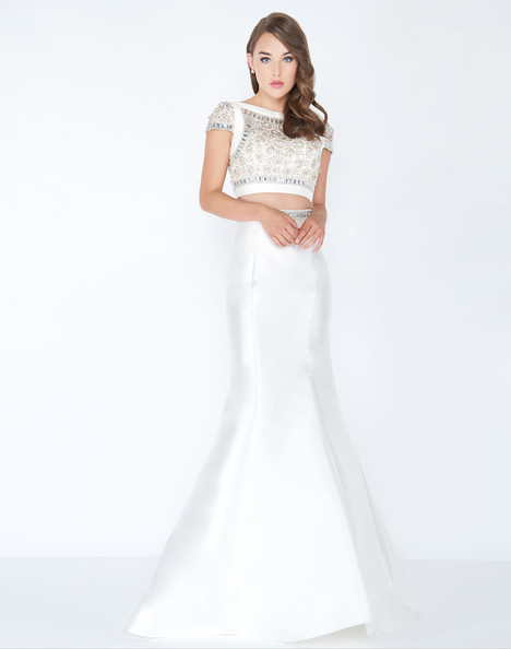 48655M (White) Prom                                             dress by Mac Duggal Prom