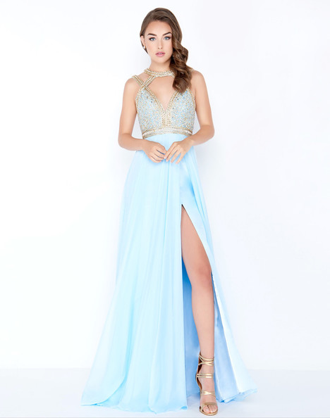 66445M (Ice Blue) Prom                                             dress by Mac Duggal Prom