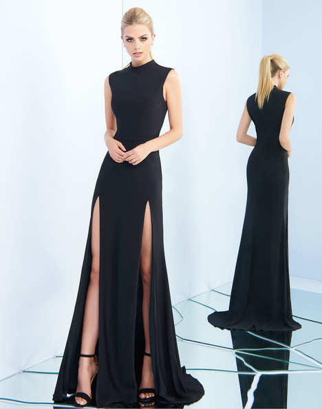 25034i (Black) Prom                                             dress by Ieena Duggal