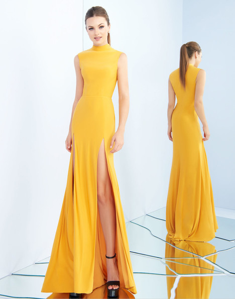 25034i (Gold) Prom                                             dress by Ieena Duggal