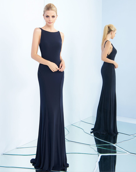 25220i (Midnight) Prom                                             dress by Ieena Duggal