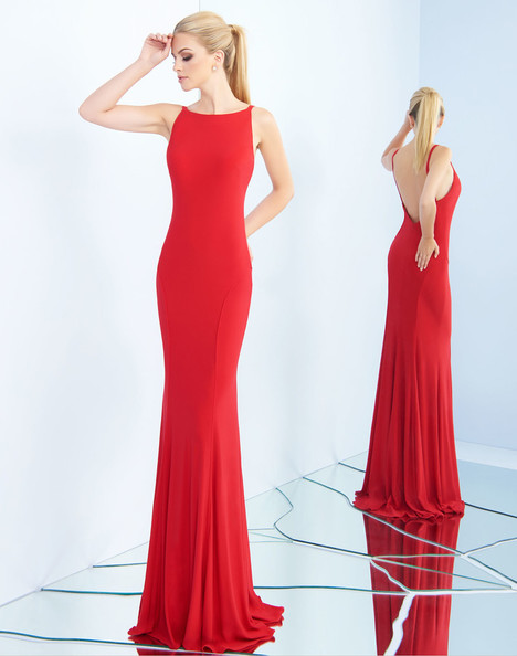25220i (Red) Prom                                             dress by Ieena Duggal