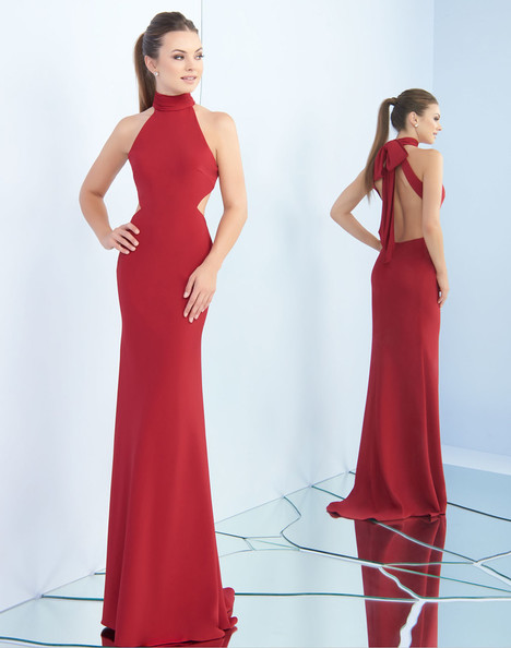 25403i (Burgundy) Prom                                             dress by Ieena Duggal