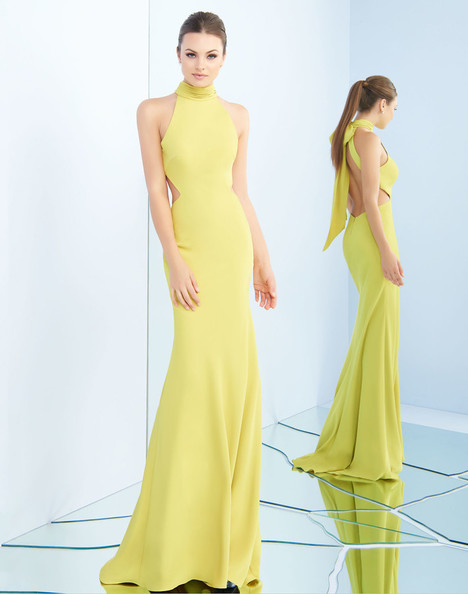 25403i (Chartreuse) Prom                                             dress by Ieena Duggal