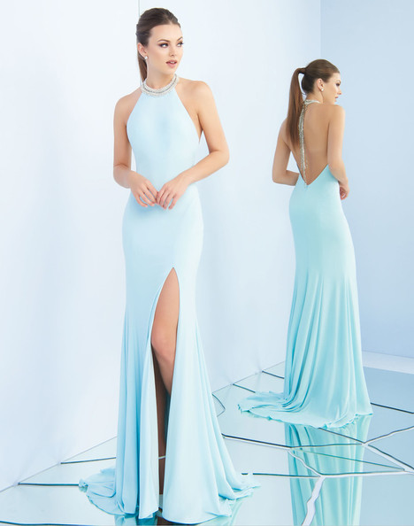 25572i (Ice Blue) Prom                                             dress by Ieena Duggal