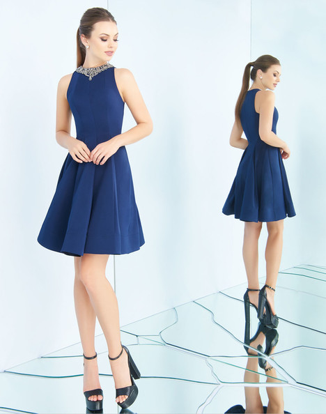 25574i (Navy) Prom                                             dress by Ieena Duggal
