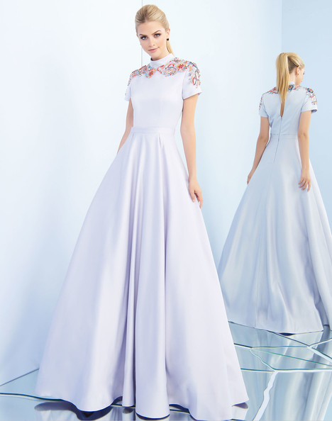25809i (Sky Blue) Prom                                             dress by Ieena Duggal