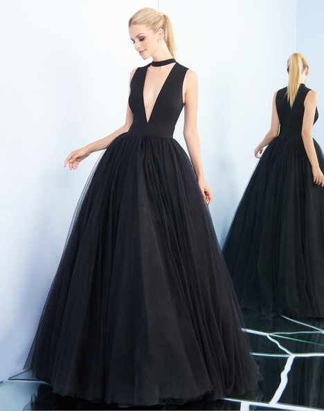 25893i (Black) Prom dress by Ieena Duggal