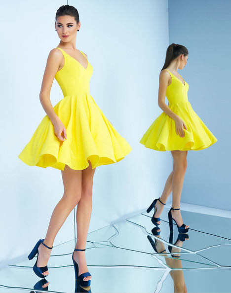 48478i (Lemon) Prom                                             dress by Ieena Duggal