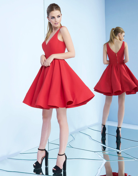 48478i (Red) Prom dress by Ieena Duggal