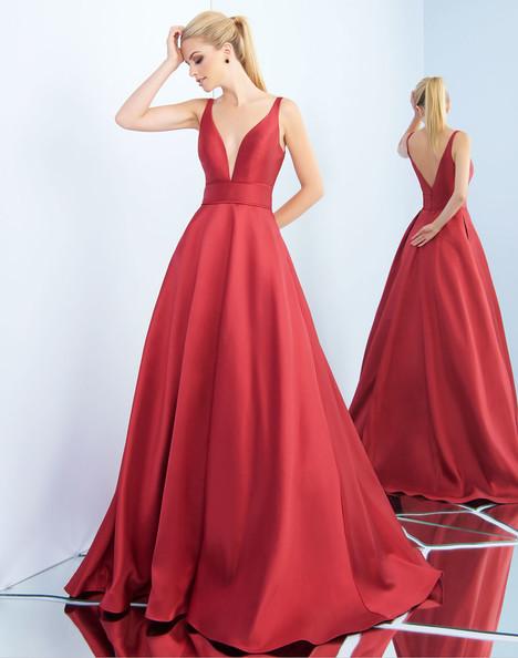 55010i (Wine) Prom                                             dress by Ieena Duggal