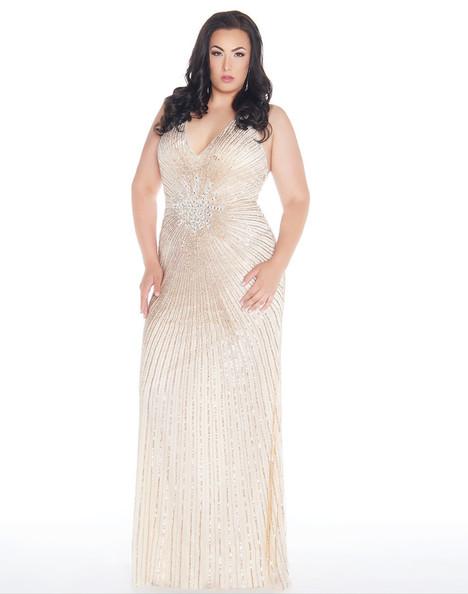 4674F (Nude) Prom                                             dress by Mac Duggal : Fabulouss