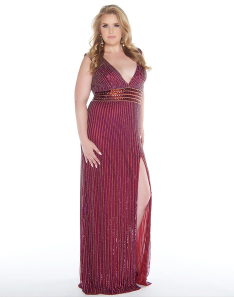 4680F (Cranberry) Prom                                             dress by Mac Duggal : Fabulouss