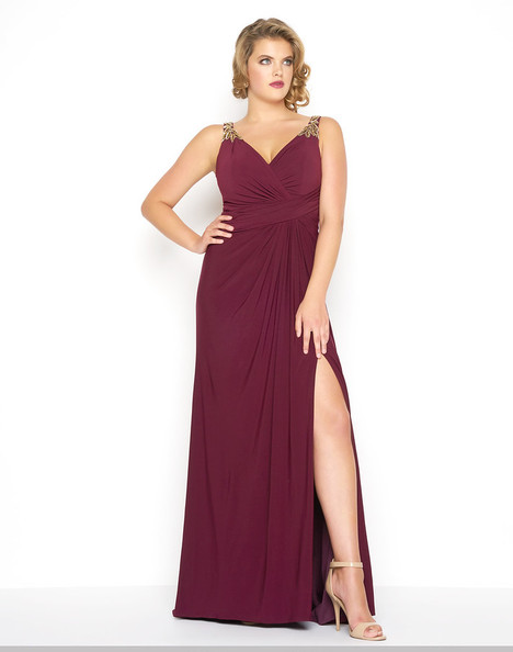 65982F (Burgundy) Prom                                             dress by Mac Duggal : Fabulouss