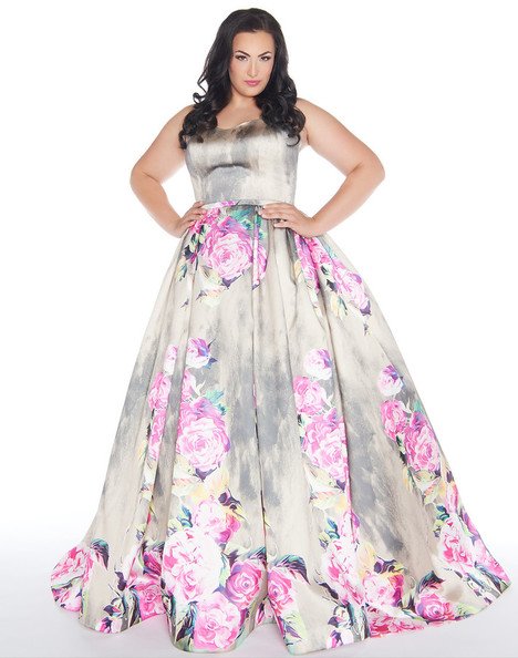 66278F (Floral + Rain) Prom                                             dress by Mac Duggal : Fabulouss