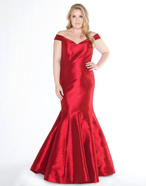 66387F (Red) Prom                                             dress by Mac Duggal : Fabulouss