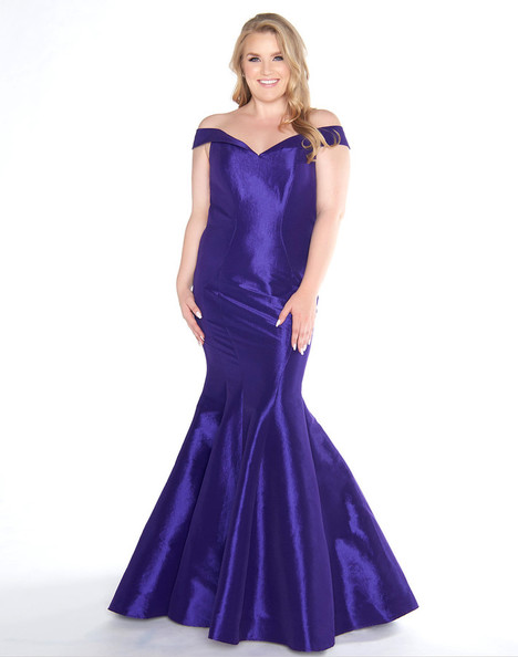 66387F (Royal Purple) Prom                                             dress by Mac Duggal : Fabulouss