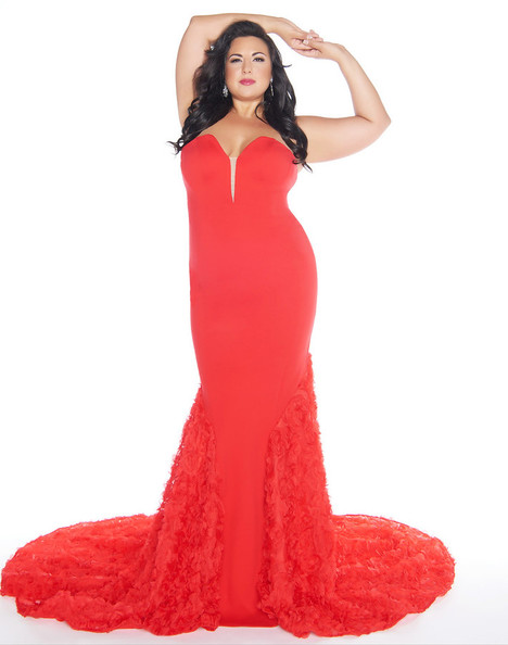 66390F (Red) Prom                                             dress by Mac Duggal : Fabulouss