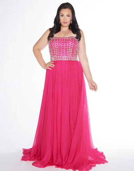 66405F (Strawberry) Prom                                             dress by Mac Duggal : Fabulouss