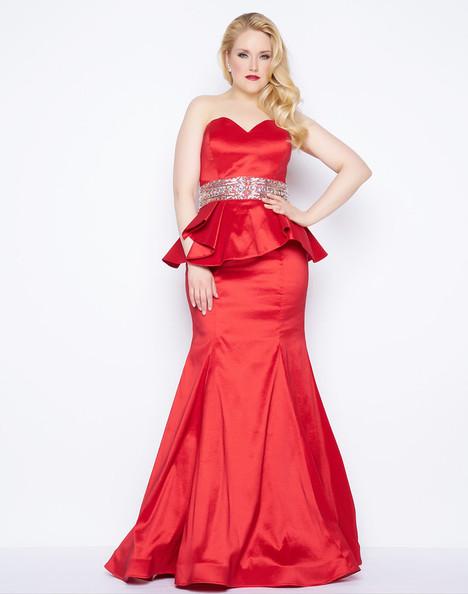 76775F (Red) Prom                                             dress by Mac Duggal : Fabulouss