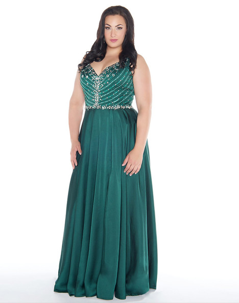 77391F (Emerald) gown from the 2018 Mac Duggal : Fabulouss collection, as seen on dressfinder.ca